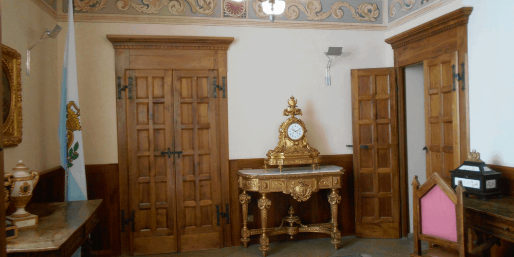 Interno del Palazzo Pubblico