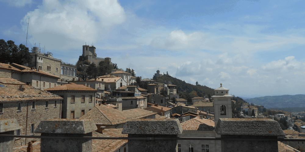Le tre torri di San Marino