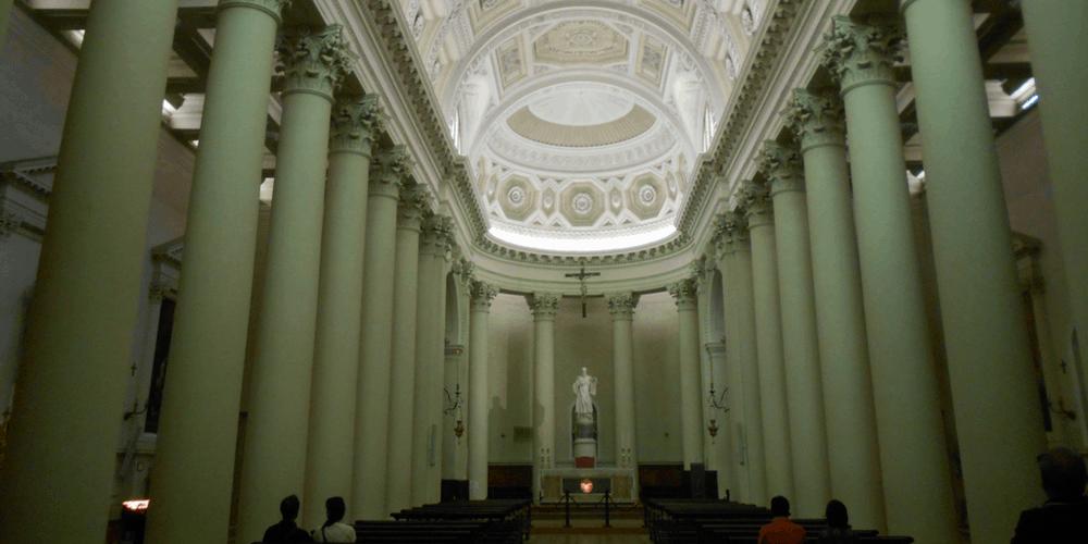 Navata principale della Basilica del Santo