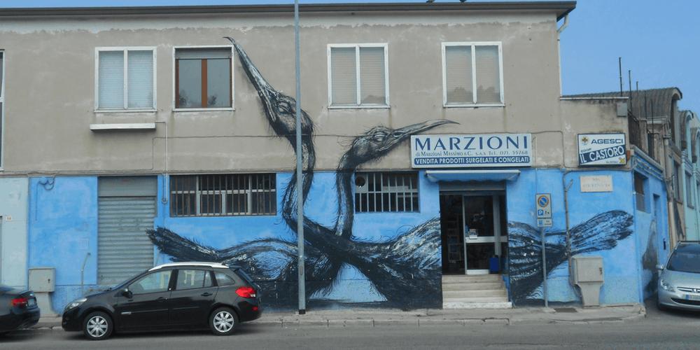 ROA Murales 2010