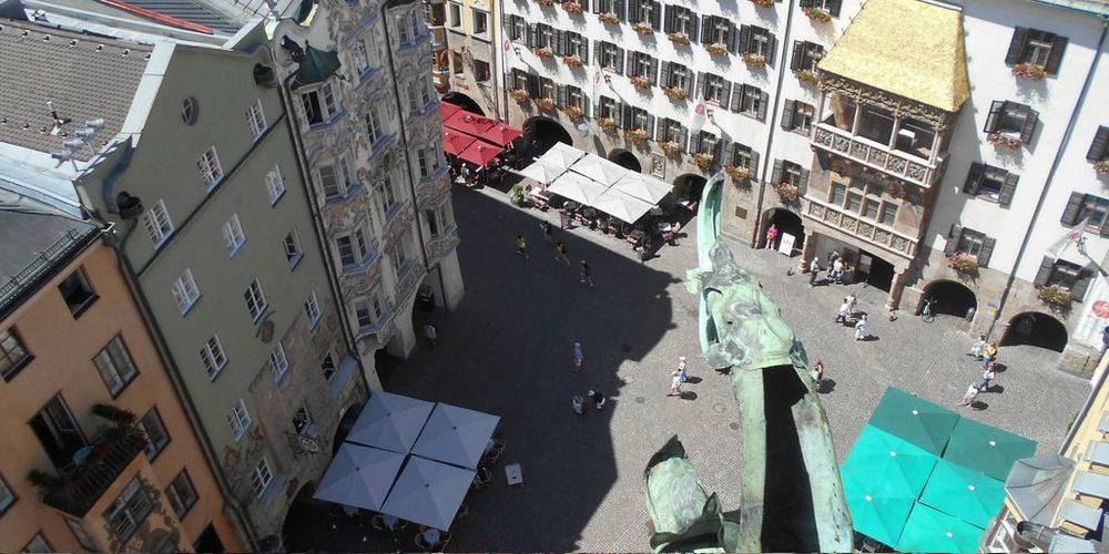Tettuccio d'Oro & Helblinghaus dalla Torre Civica
