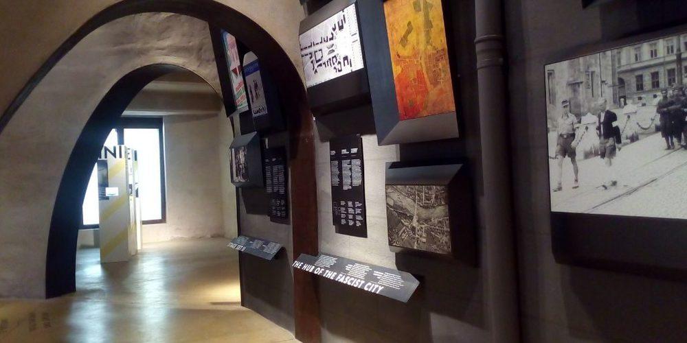 Interno del museo del Monumento alla Vittoria