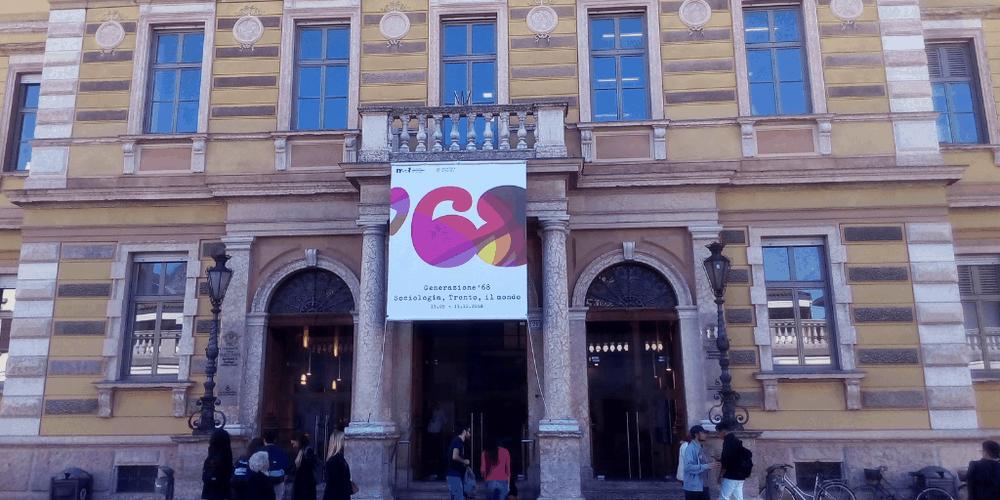 I luoghi del '68 a Trento entrata di sociologia