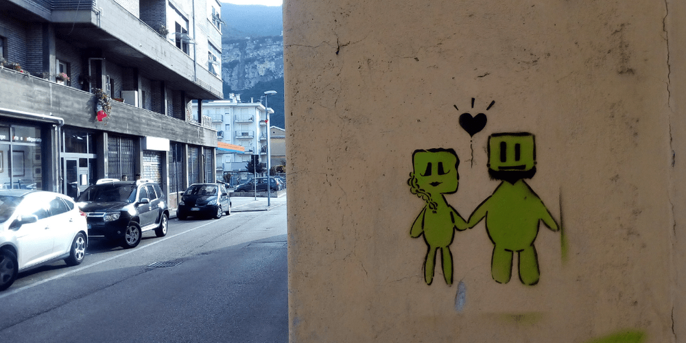 Street Art a Trento via travai