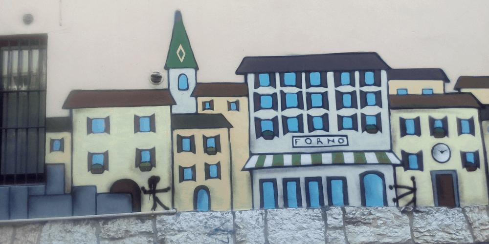 street art a trento san martino