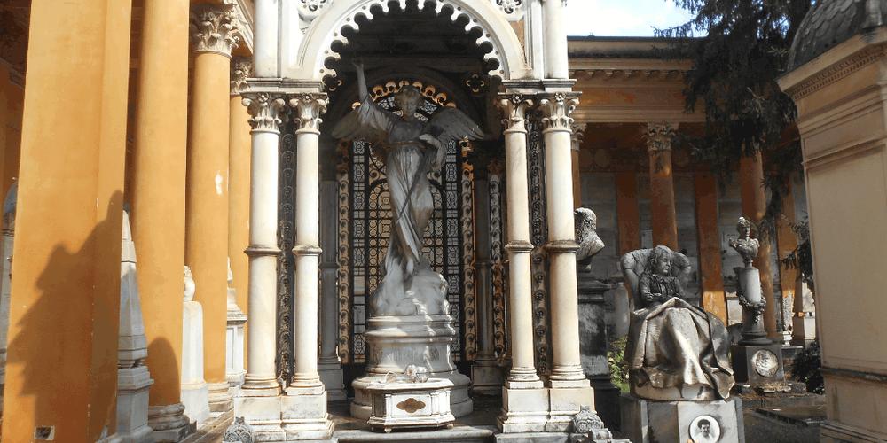 cimitero monumentale la certosa bologna bimbi
