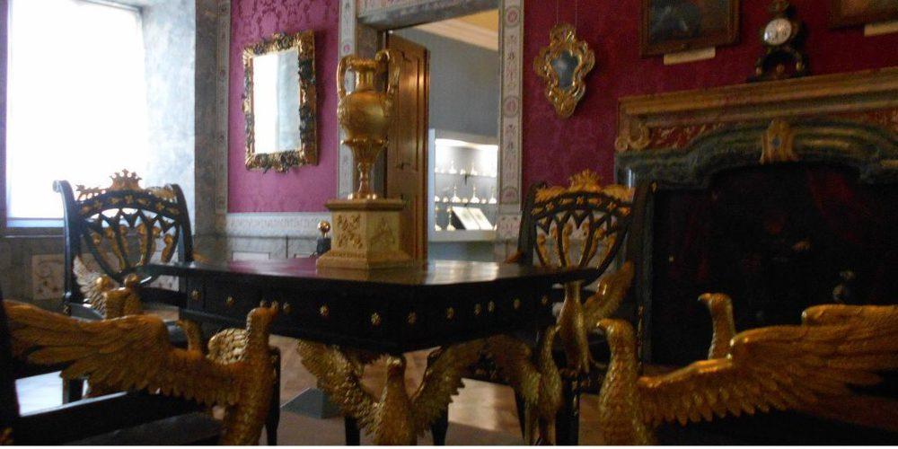 Una sala del Palazzo Vescovile di Bressanone