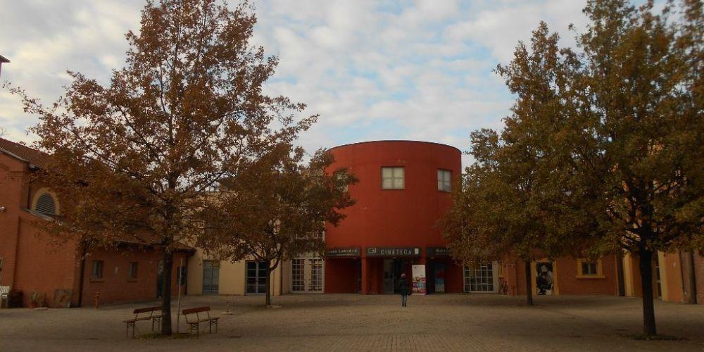 Le sale della Cineteca e la biblioteca