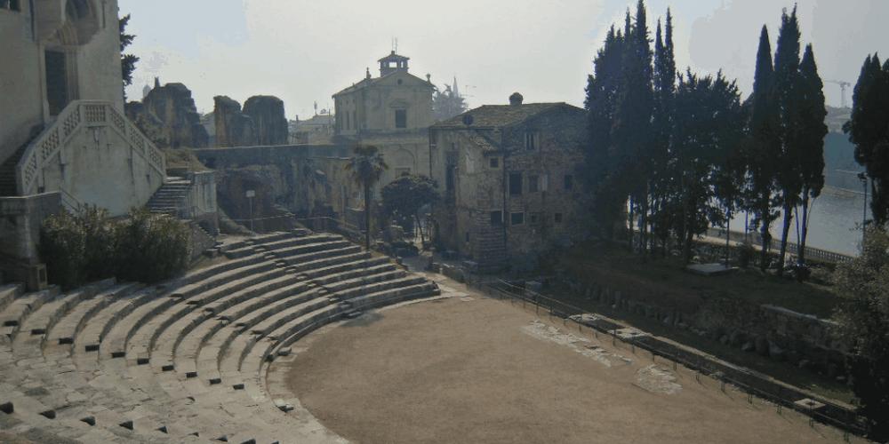 Scorcio sul Teatro Romano