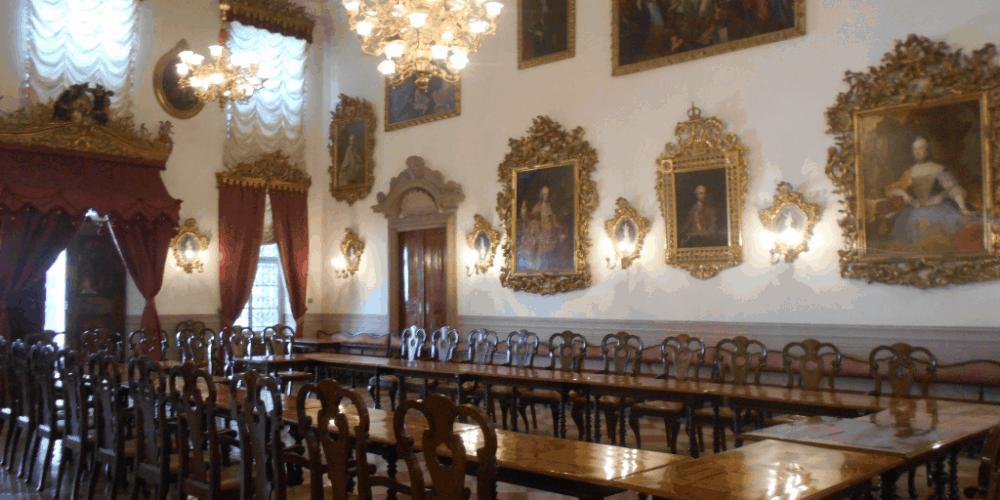 sala riunioni palazzo mercantile