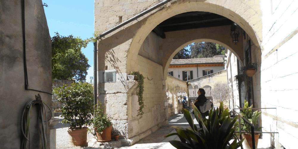 Esterno della chiesa di San Giovanni in Valle