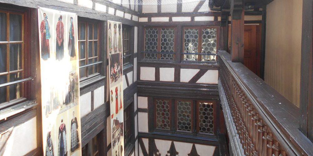 Interno Museo Alsaziano Strasburgo