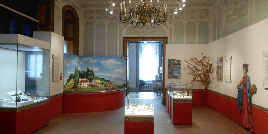 Una sala del Museo Archeologico