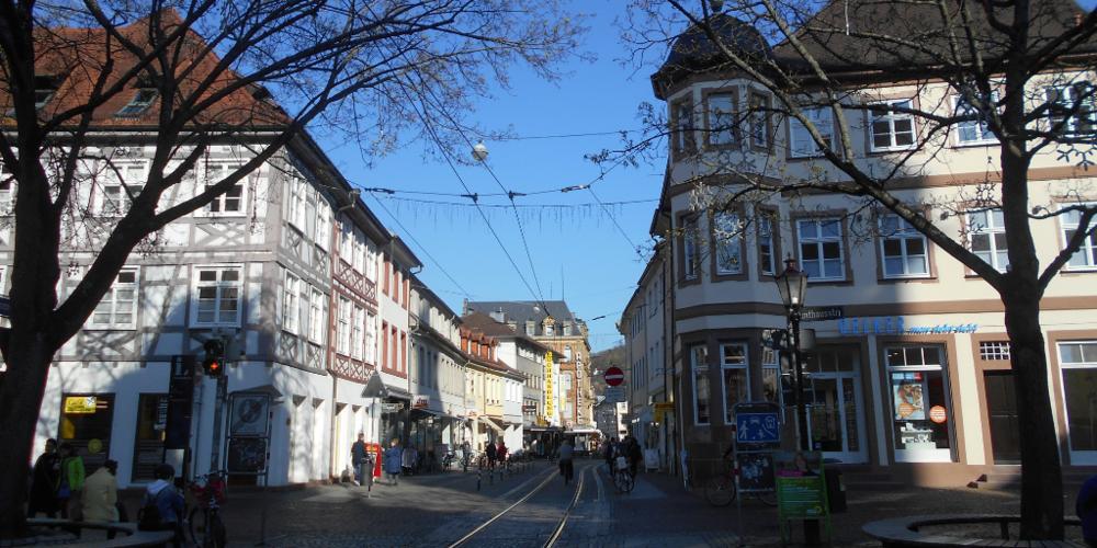 La via principale di Durlach