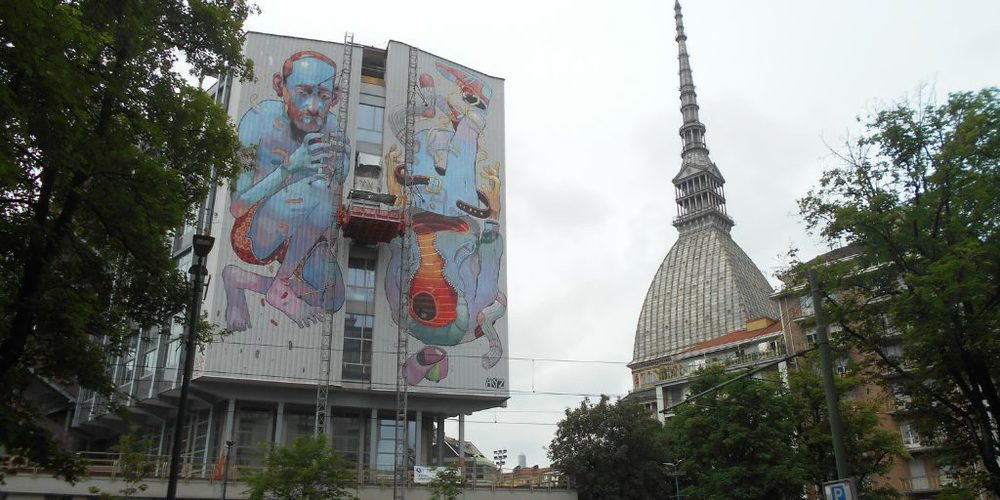 La Mole Antonelliana con all'interno il Museo del Cinema