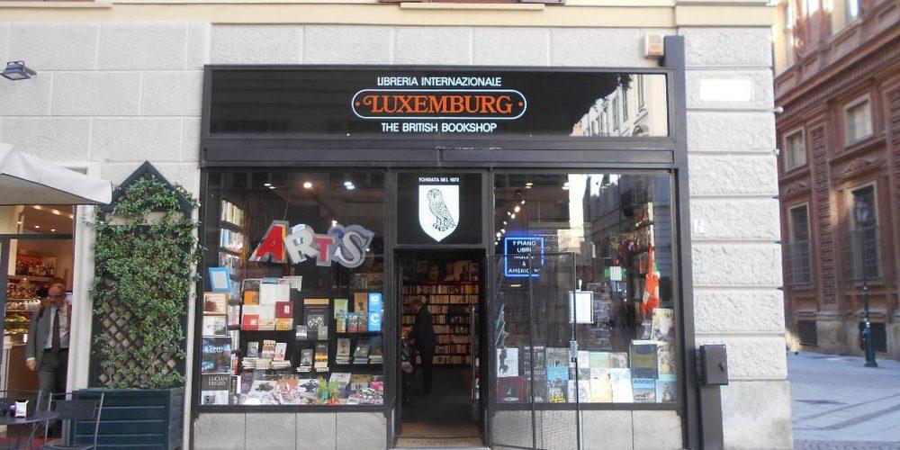 La libreria Luxemburg: una delle tante libreria alternative di Torino