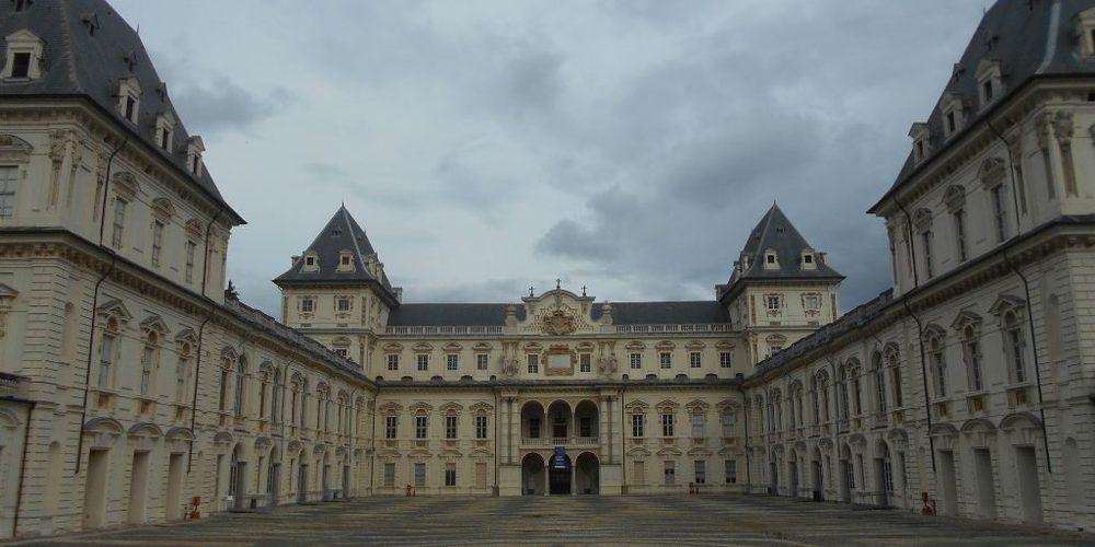 L'esterno del Castello del Valentino