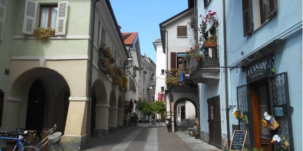 Contrada Mondovì dove si trova il Museo Dicoesano