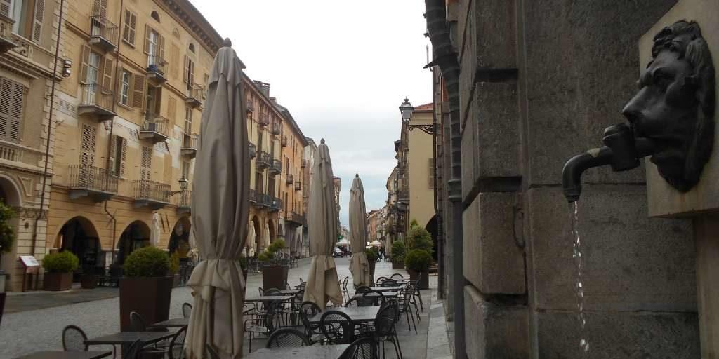 Uno scorcio su via Roma a Cuneo
