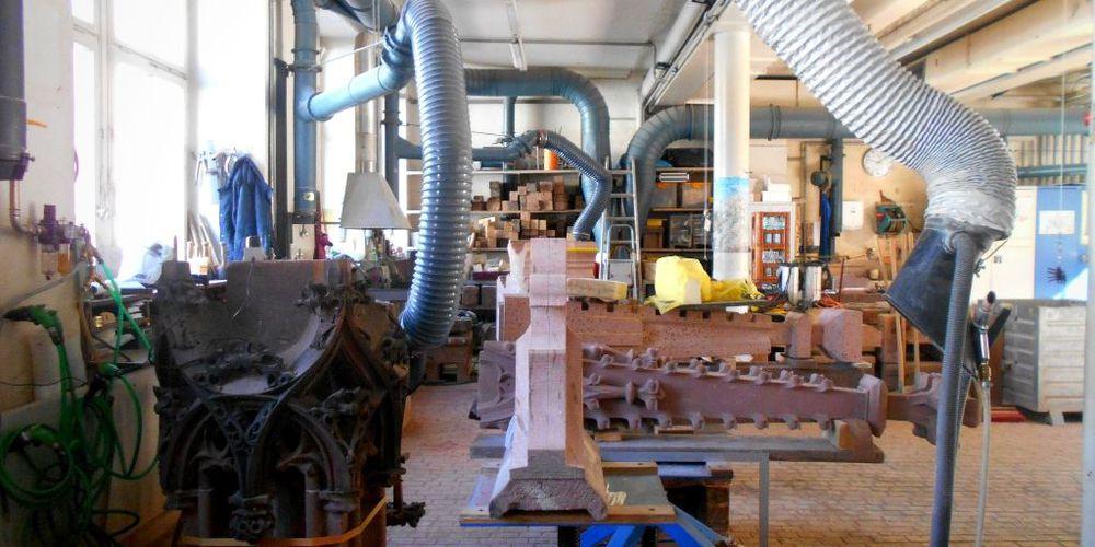 Münsterbauhütte fabbrica cattedrale friburgo