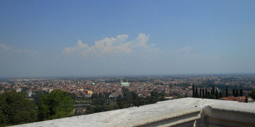 Vicenza vista dal piazzale vittoria
