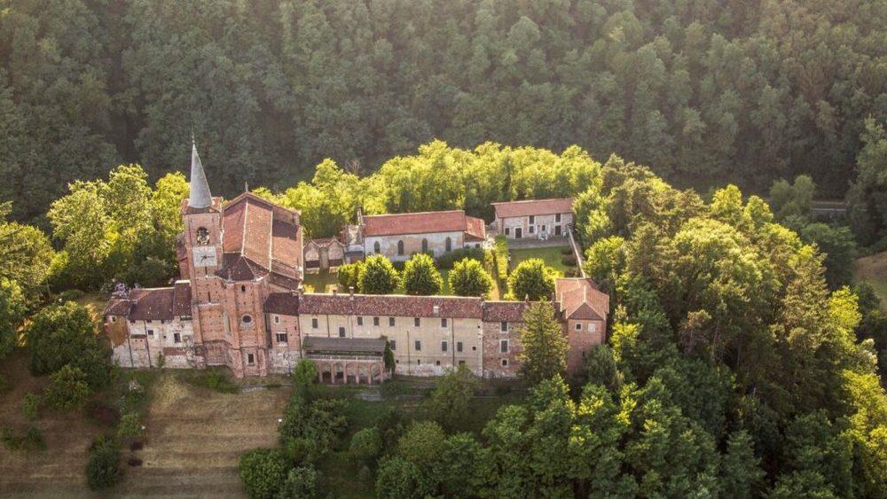 Il Museo della Collegiata di Castiglione Olona visto dall'alto